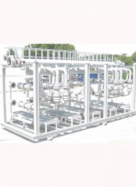 توزیع کننده تست و تولید نفت